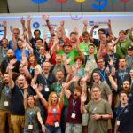 Gruppenbild Teilnehmer beim WordCamp Europe 2018